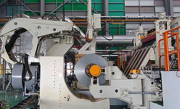 aluminum coil machine